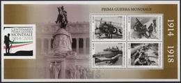 """Italia - Repubblica 2015 """"Centenario Della Prima Guerra Mondiale, Nuovo Blocco Foglietto - 6. 1946-.. Republik"""