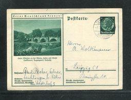 Deutsches Reich / 1933 / Bildpostkarte > HANN. MUENDEN, Steg-Stempel Leverkusen (17278) - Ganzsachen