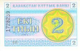 Kasachstan - 2 Tyin UNC 1993 - Kasachstan