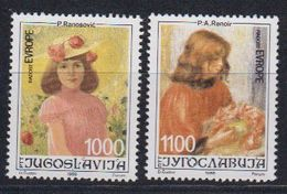 Yugoslavia 1988 Joy Of Europe 2v ** Mnh (43050B) - European Ideas