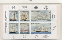 PIA - FINLANDIA -1997 - Velieri - (Yv C 1351) - Marittimi