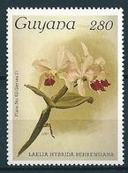 Guyana  1985-89  Orchideen, Orchids  Mi-Nr. 2354 Postfrisch / MNH - Guyana (1966-...)
