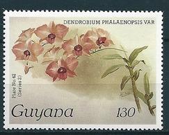 Guyana  1985-89  Orchideen, Orchids  Mi-Nr. 2258 Postfrisch / MNH - Guyana (1966-...)