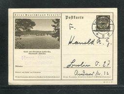 Deutsches Reich / 1936 / Bildpostkarte > SCHOENLANKE (Ostbahn), Steg-Stempel Schneidemuehl (17287) - Deutschland