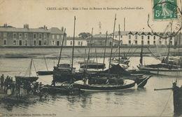 """Mise à L' Eau Bateau De Sauvetage """" Le Zindroni Godin """" St Gilles Croix De Vie. Phare - Altri"""