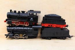 LIMA PIKO DB LOT DE 2 LOCOMOTIVES VAPEUR HO (D385) - Locomotives