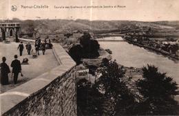 BELGIQUE - NAMUR CITADELLE - TOURELLE DES GUETTEURS ET CONFLUENT DE SAMBRE ET MEUSE - Namur