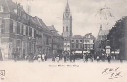 1890130Den Haag, Groote Markt (poststempel 1902)(linksonder Een Vouwtje) - Den Haag ('s-Gravenhage)