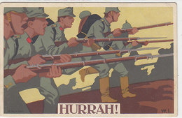 Hurrah!         (A-81-160113) - Illustratori & Fotografie