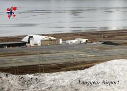 Svalbard Islands Longyerbyen Airport Aerial View New Postcard Spitzbergen Flughafen AK - Norwegen