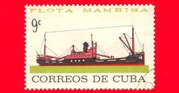CUBA - Usato - 1964 - Nave - Flotta Mercantile - Bahia De Siguarea - Mambisa - 9 - Cuba