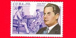 CUBA - Nuovo Obl. - 1976 - Storia Degli Scacchi - Jose Raul Capablanca - 30 - Vedi... - Nuovi