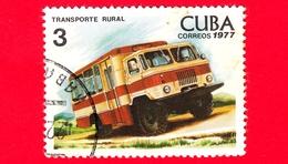 CUBA - Nuovo Obl. - 1977 - Trasporto - Autobus - Omnibus - 3 - Nuovi