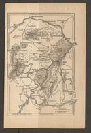 CARTE PLAN 1928 - PAIRIS BONHOMME LA POUTROYE ORBEY LINGE LAC BLANC CIMETIERE ALLEMAND - Mapas Topográficas