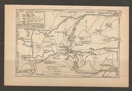 CARTE PLAN 1928 - TROISEPIS HOHNACK TURCKHEIM GALZ LA BAROCHE KATZENTAL - Cartes Topographiques