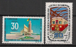 Cameroun - 1969 - N°Yv. 477 à 478 - Chemin De Fer - Neuf Luxe ** / MNH / Postfrisch - Cameroon (1960-...)