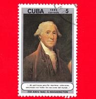 CUBA - Nuovo Obl. - 1982 - 250 Anni Della Nascita Di George Washington - 5 - Cuba