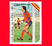 CUBA - Nuovo Obl. - 1982 - Coppa Del Mondo Di Calcio,  Spagna 1982 - 1 - Cuba