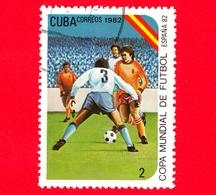 CUBA - Nuovo Obl. - 1982 - Coppa Del Mondo Di Calcio,  Spagna 1982 - 2 - Cuba