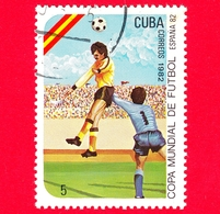 CUBA - Nuovo Obl. - 1982 - Coppa Del Mondo Di Calcio,  Spagna 1982 - 5 - Cuba