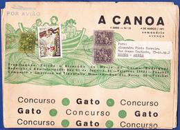 Newspaper / Journal, A Canoa - Funchal, Madeira Portugal To Luanda, Angola / 1971 - 1910-... Republic