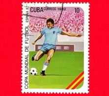 CUBA - Nuovo Obl. - 1982 - Coppa Del Mondo Di Calcio,  Spagna 1982 - 10 - Cuba