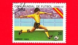 CUBA - Nuovo Obl. - 1982 - Coppa Del Mondo Di Calcio,  Spagna 1982 - 20 - Cuba