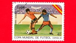 CUBA - Nuovo Obl. - 1982 - Coppa Del Mondo Di Calcio,  Spagna 1982 - 40 - Cuba