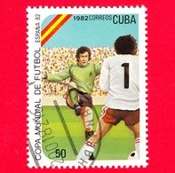 CUBA - Nuovo Obl. - 1982 - Coppa Del Mondo Di Calcio,  Spagna 1982 - 50 - Cuba