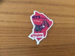 """Magnet Département Le Gaulois """"973 Guyane"""" (Le Manioc) - Magnets"""