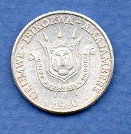 Burundi - 1 Franc 1980 - Km # 19   état  TTB+ - Burundi