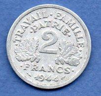 Bazor --  2 Francs 1944 B -  état  TB+ - I. 2 Francs