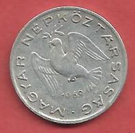10 Filler , HONGRIE , Aluminium , 1969 BP , N° KM # 572 - Hungría