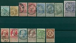 Belgique - 1865/1913 - Lot Timbres Oblitérés - Nºs Dans Description - Belgique