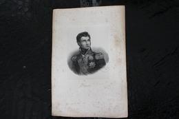 DH/Jean Lannes, 1ᵉʳ Duc De Montebello, Né Le 10 Avril 1769 à Lectoure Et Mort En 1809 En Autriche / 16x24 Cm - Documents Historiques
