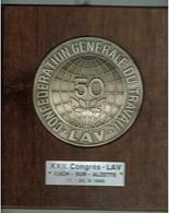 Esch/Alzette Médaille XXII.Congrès-LAV (Confederation Générale Du Travail 1966 - Other