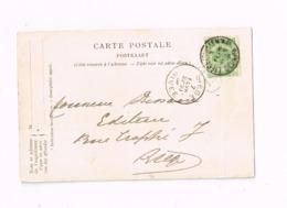 """""""Chambre Des Représentants"""".Expédié De Liège. - 1893-1907 Armoiries"""