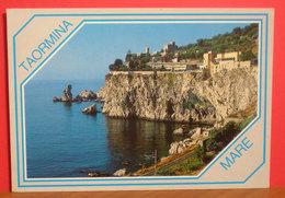 Taormina  Mare Cartolina  Viaggiata - Autres Villes
