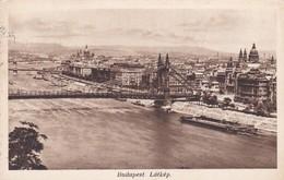 CARTOLINA - UNGHERIA - BUDAPEST - LA'TKèP  - VIAGGIATA PER ROMA ( ITALIA) - Ungheria