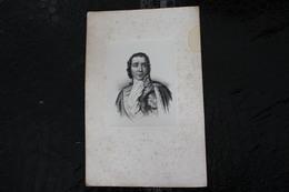 DH/ François Joseph Lefebvre, Né Le 25 Octobre 1755 à Rouffach Et Mort Le 14 Septembre 1820 à Paris / 16x24 Cm - Documents Historiques