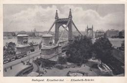 CARTOLINA - UNGHERIA - BUDAPEST - ERZèBET - HID  - VIAGGIATA PER BELLAGIO - COMO ( ITALIA) - Ungheria