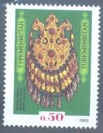 First Stamp Of TURKMENISTAN 1992 SG / Scott # 1 Mint - Rare - Postal History - Turkmenistan