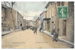 Lezignan Avenue Victor Hugo Edition Boissier, Lézignan Carte Couleur - Autres Communes