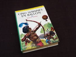 Jules Verne  Semaines En Ballon Illustrations De H. Dimpre (1965) - Bücher, Zeitschriften, Comics