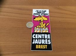 AUTOCOLLANT, Sticker «CENTRE JAURÈS - BREST (29)» (chien) - Autocollants
