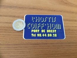 AUTOCOLLANT, Sticker «L'HOSTIS COIFF'HOM - BREST (29)» - Stickers