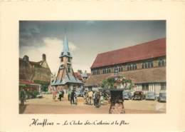 HONFLEUR Le Clocher Ste Catherine Et La Place 10(scan Recto Verso)ME2667 - Honfleur