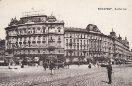 CARTOLINA - POSTCARD - UNGHERIA - BUDAPEST - BERLINI TèR - Ungheria