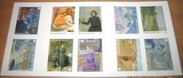 Boekje 138** Théo Van Rysselberghe  + Ongetand - Carnet 138:  Non-Dentelée / Imperforated Sheet - Non Dentelés