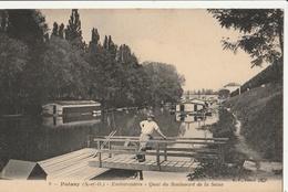 POISSY  Embarcadère - Quai Du Boulevard De La Seine - Poissy